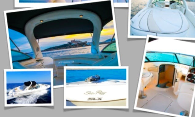 speed boat for rent in Ibiza, Spain for 990 EUR a day