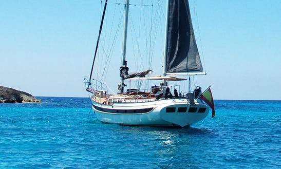 Ketch Motor Sailer For Hire In Ibiza