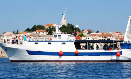 Charter Gulet In Primosten, Croatia