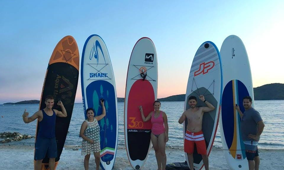 Paddleboarding in Split, Rent a SUP