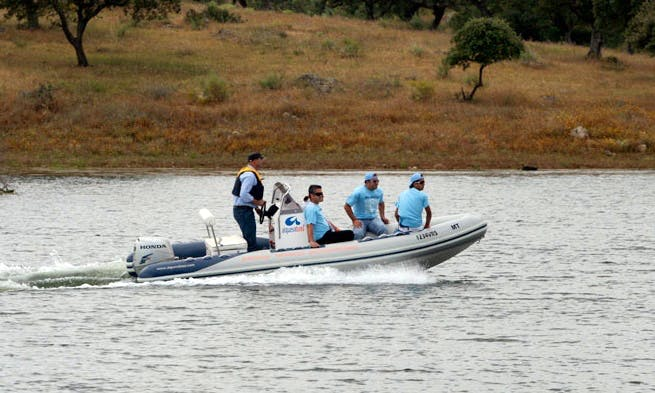 Charter 18' Rigid Inflatable Boat in Moura, Portugal