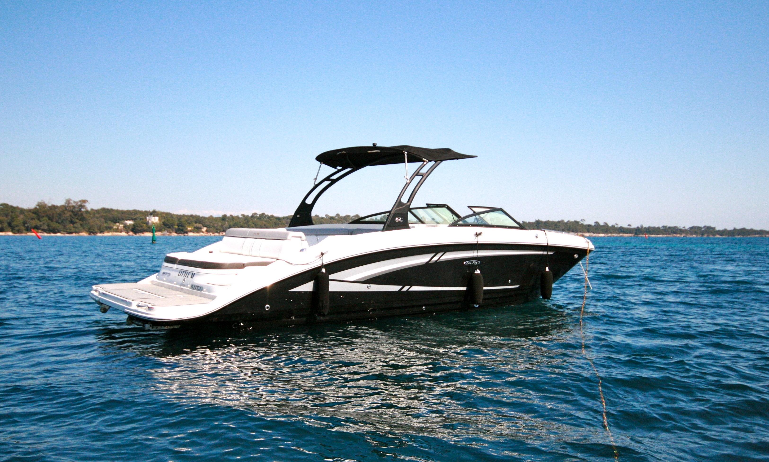 SeaRay 270 Sundeck Based Near Cannes | GetMyBoat