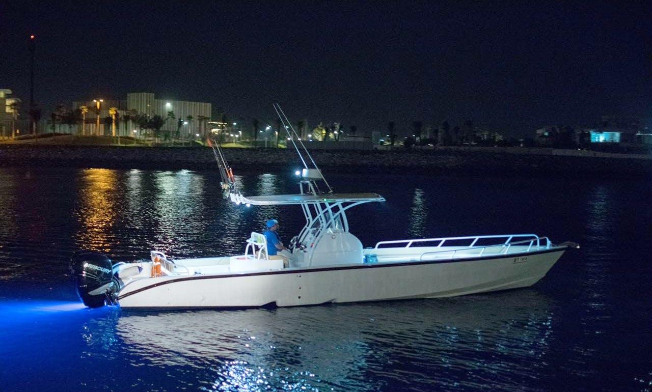 Enjoy Fishing in Dubai, United Arab Emirates on 39' Foot Speed Boat