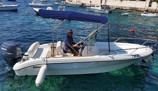 Sessa Key Largo 19 With 100 Hp Yamaha For Rent In Hvar