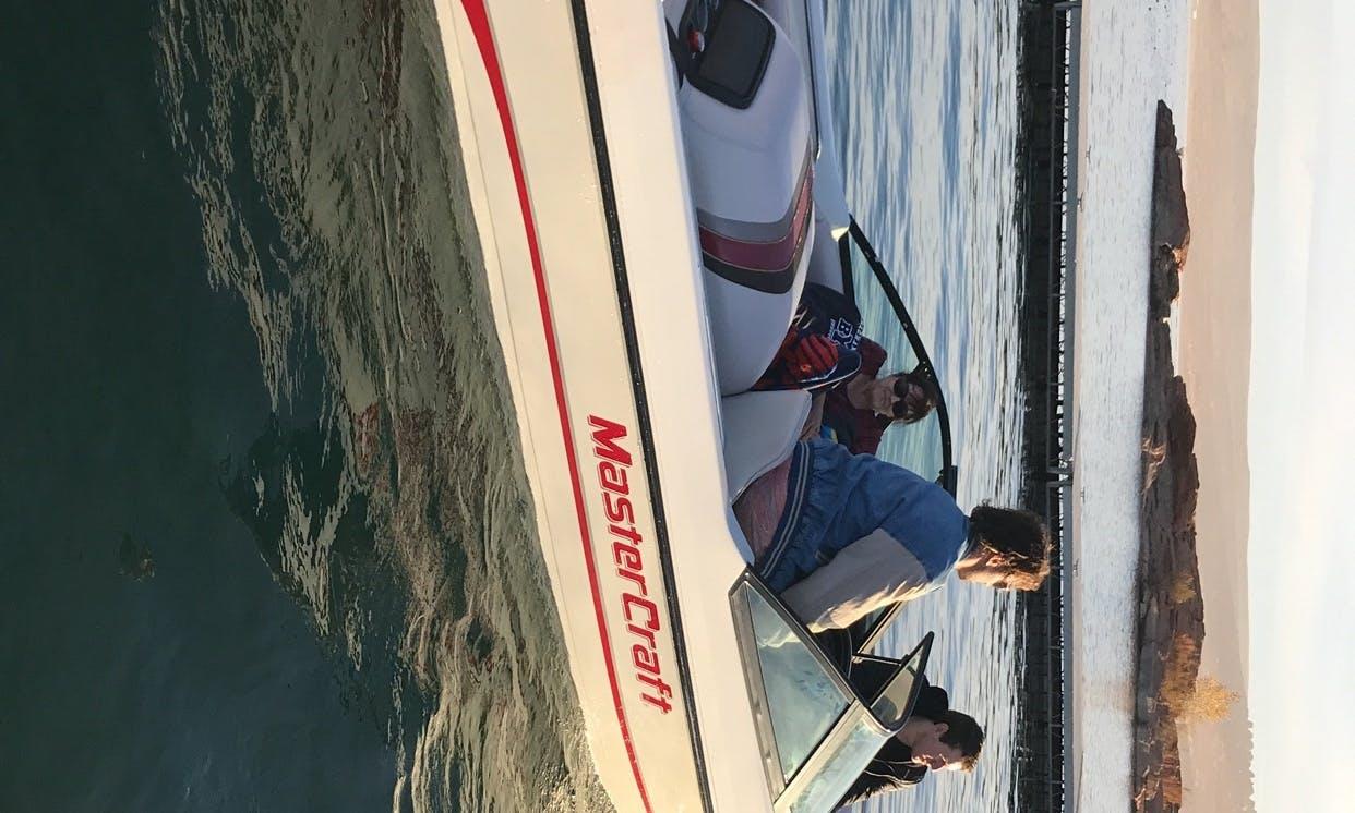 Water Skiing in Hurricane