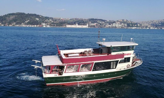Charter Lufer 5 Canal Boat In Istanbul, Turkey