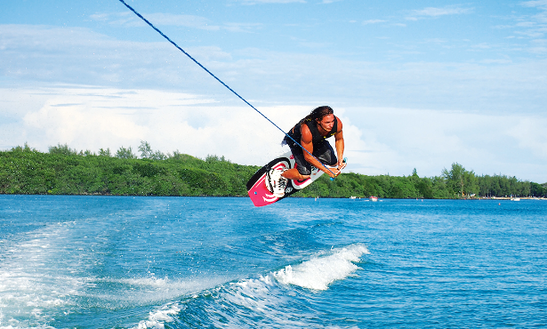 Enjoy Wakeboarding In Marin, Martinique