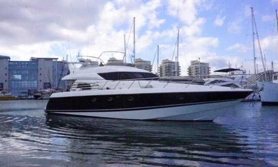 Sunseeker Manhattan 62 Rent With Licencee Or Our Captain.port Alcudia