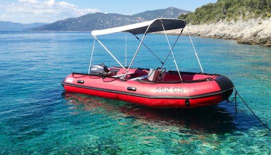 Rib Rental In Cres, Croatia