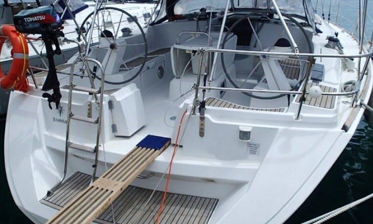 Charter 46' Big Blue Cruising Monohull in Sukošan, Croatia