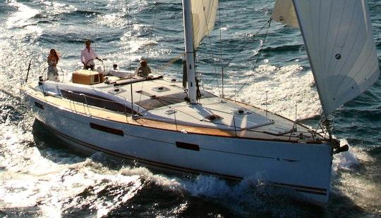 Enjoy A Cruising Monohull Charter In Lefkada