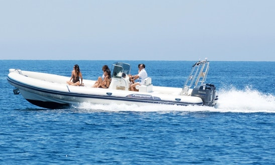 Rent Rigid Inflatable Boat In Trapani, Capelli 900