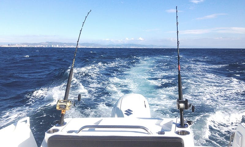 Enjoy Fishing On Cuddy Cabin Boat In Cambrils, Spain