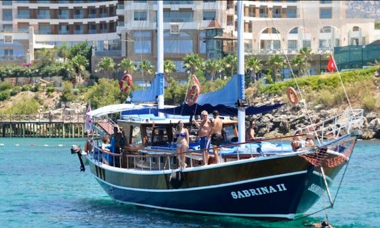 Charter Sabrina Ii Gulet In Limasol, Cyprus
