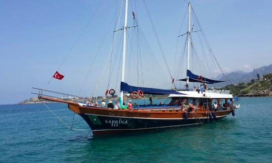 Charter Sabrina Iii Gulet In Limasol, Cyprus