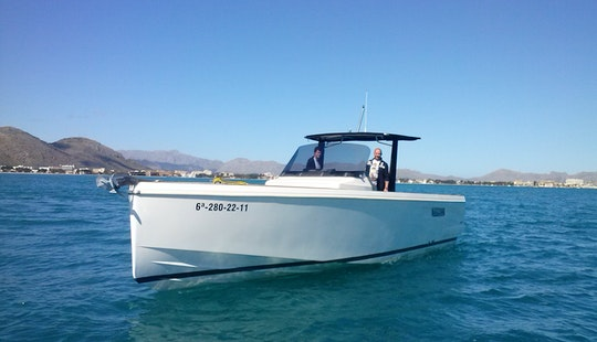 Fjord 36 Rent With Licence Or Our Captain.port Alcudia