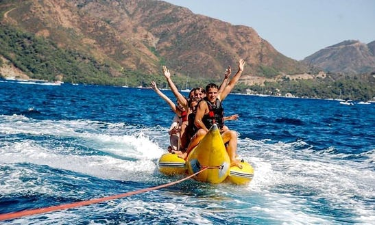 Enjoy Tubing And Banana Boats In Maramis, Turkey