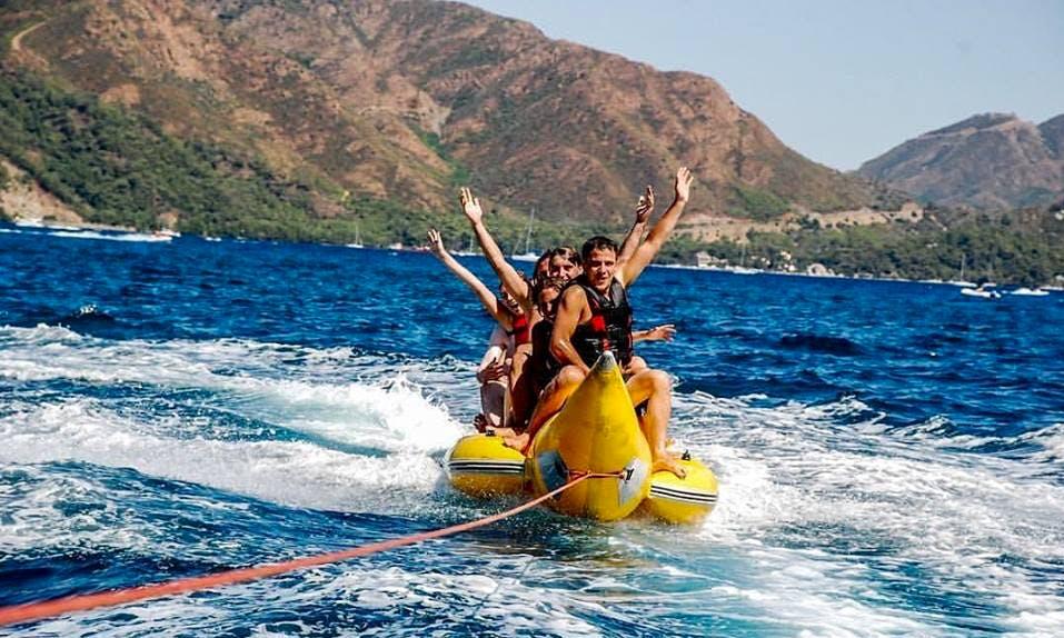 Enjoy Tubing and Banana Boats in Maramis, Turkey