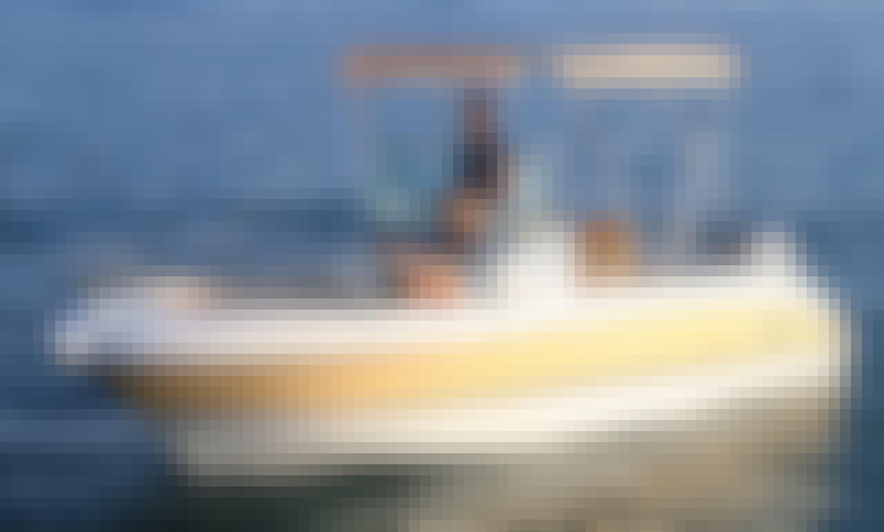 20' Sessa Key Largo Deck Boat Rental In Santa Eulària des, Spain