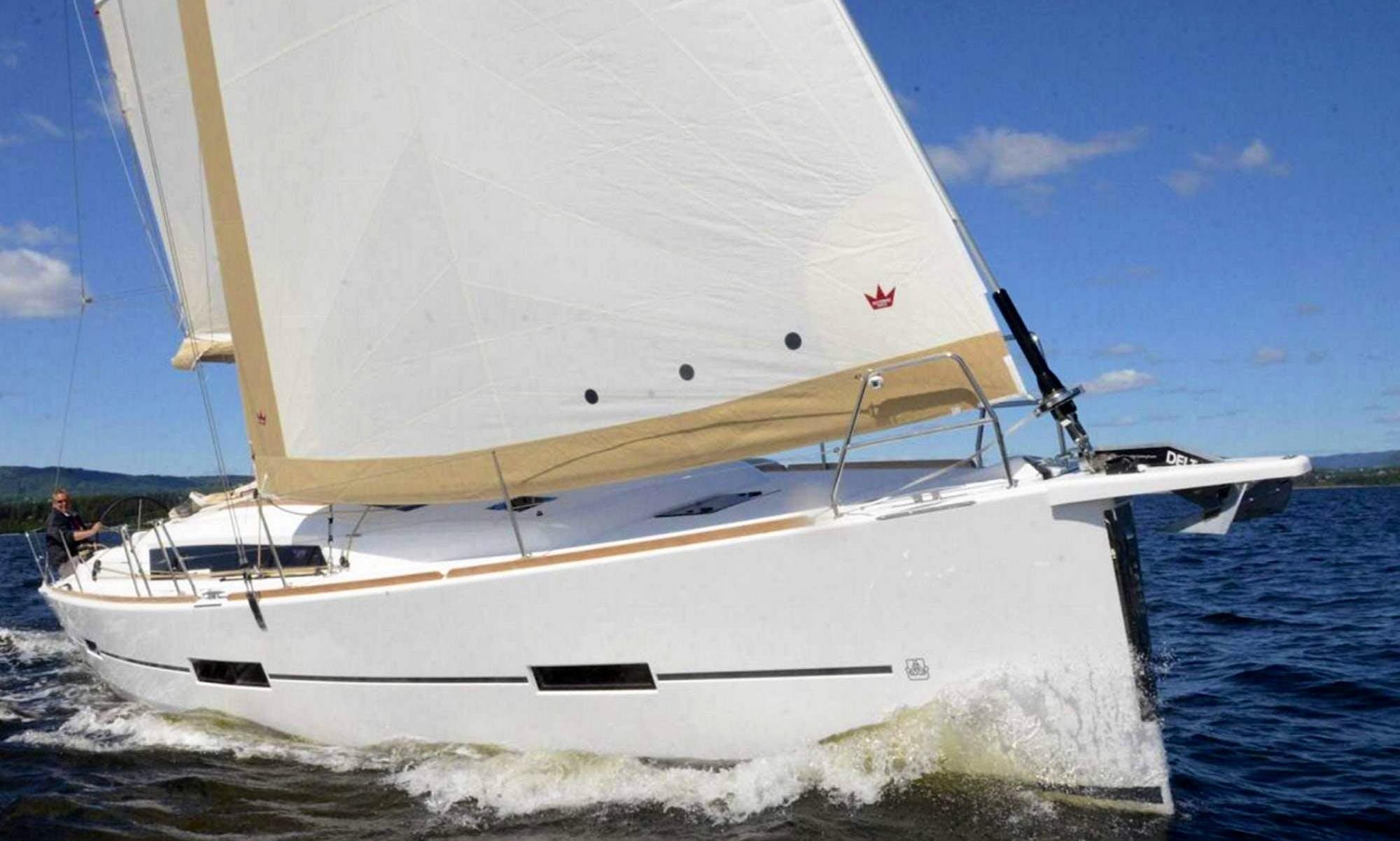 Venture the sea aboard a Brandnew Sailboat!