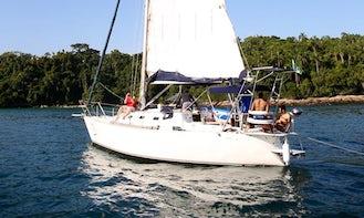 Charter 35' Cruising Monohull in Paraty, Brazil