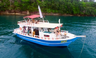 Charter a Beer Boat in Paraty, Brazil