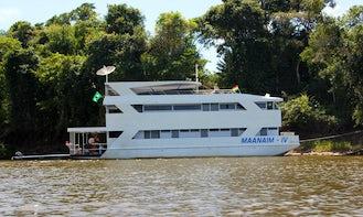Enjoy Fishing in Rondônia, Brazil on 79' Maanaim - IV Power Mega Yacht