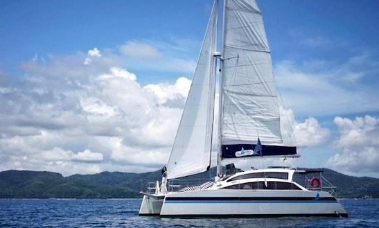 A Heart-stirring Cruise On The Gulf Of Thailand Aboard This Catamaran!