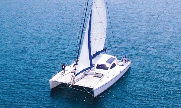 Charter 68' Cruising Catamaran in Tambon Nong Pla Lai, Thailand