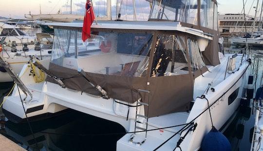 Cruising Catamaran In Loano