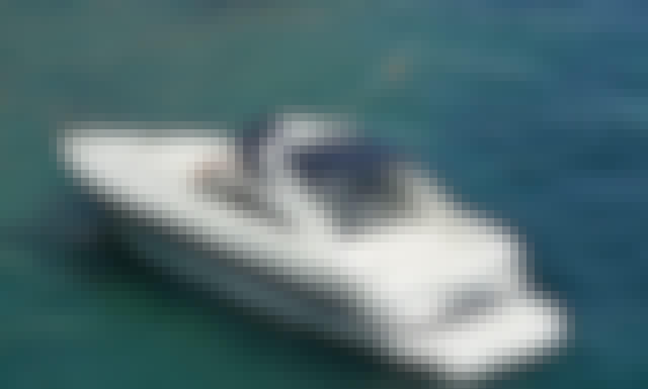 Charter 39' Pershing 37 Motor Yacht In Santa Eulària des Riu, Spain