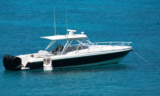 Motor Yacht Rental In Gustavia