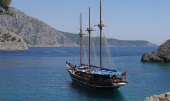 Charter Bahriyeli B 147' Gulet in Muğla, Turkey