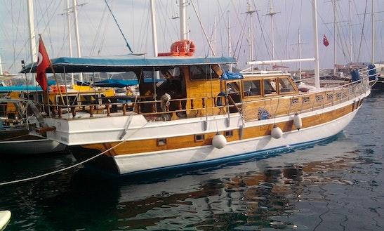 Charter 69' Erdi 2 Gulet In Antalya, Turkey