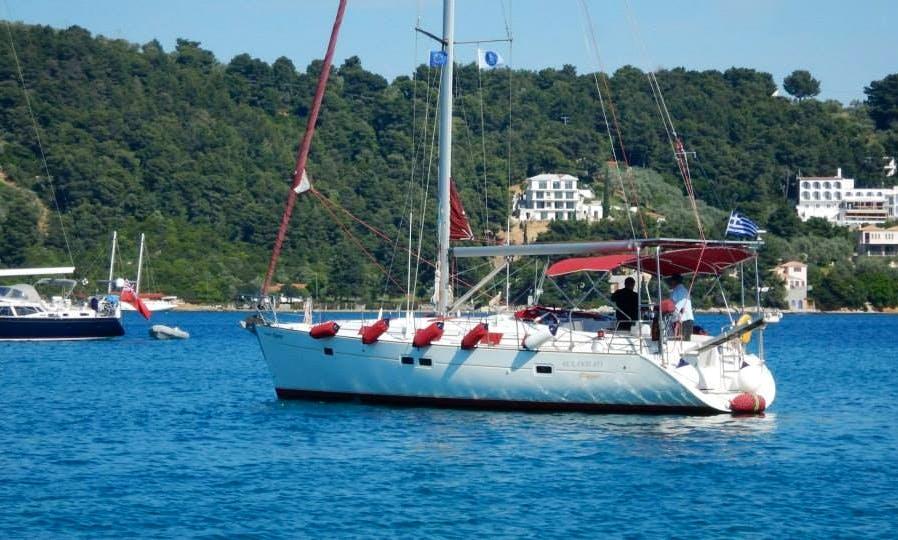 Charter Dolphin Day Cruising Monohull in Skiathos, Greece