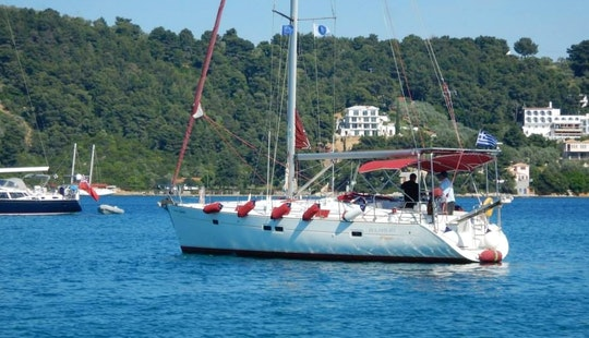 Charter Dolphin Day Cruising Monohull In Skiathos, Greece