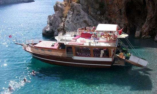 Charter A Motor Yacht In Fethiye, Turkey
