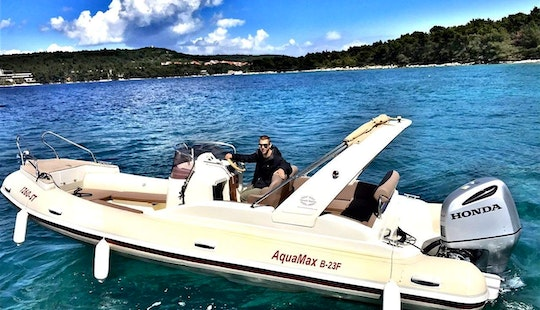 Rent His 2007 Aquamax Rib In Split For Up To 10 People