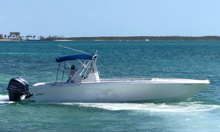 Center Console Rental in Exuma, Bahamas for up to 12 person | GetMyBoat