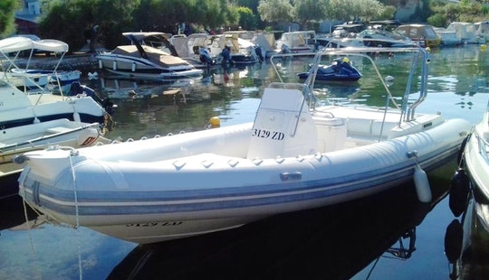 Charter 31' Euromarine 950 Rigid Inflatable Boat In Kožino, Croatia