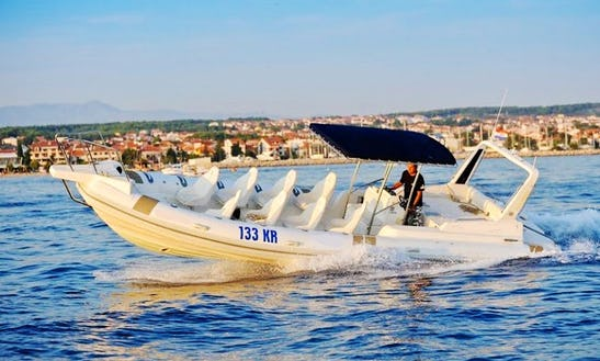 Charter A Rigid Inflatable Boat In Kožino, Croatia