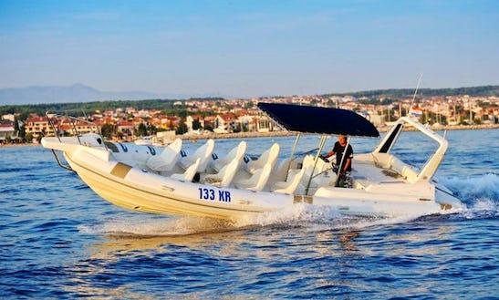 Charter A Rigid Inflatable Boat In Kožino, Croatia