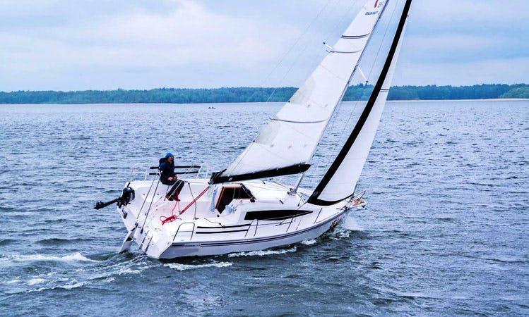 Maxus 26 Sailboat Charter in Węgorzewo, Poland