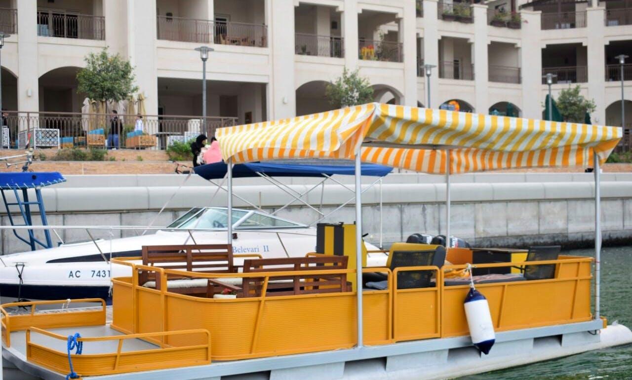 Electric Eco Friendly Pontoon Boat in Abu Dhabi, Princess Loli