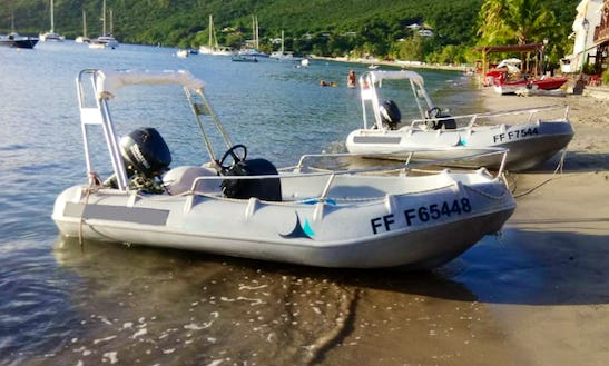 Rent 12' Whaly 370 - Titan V Dinghy In Le Marin, Martinique