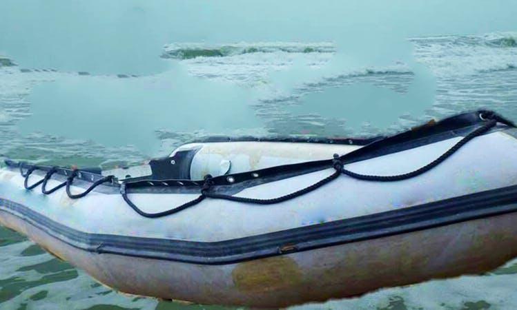 Rent this Inflatable Raft Boat in Karachi, Pakistan