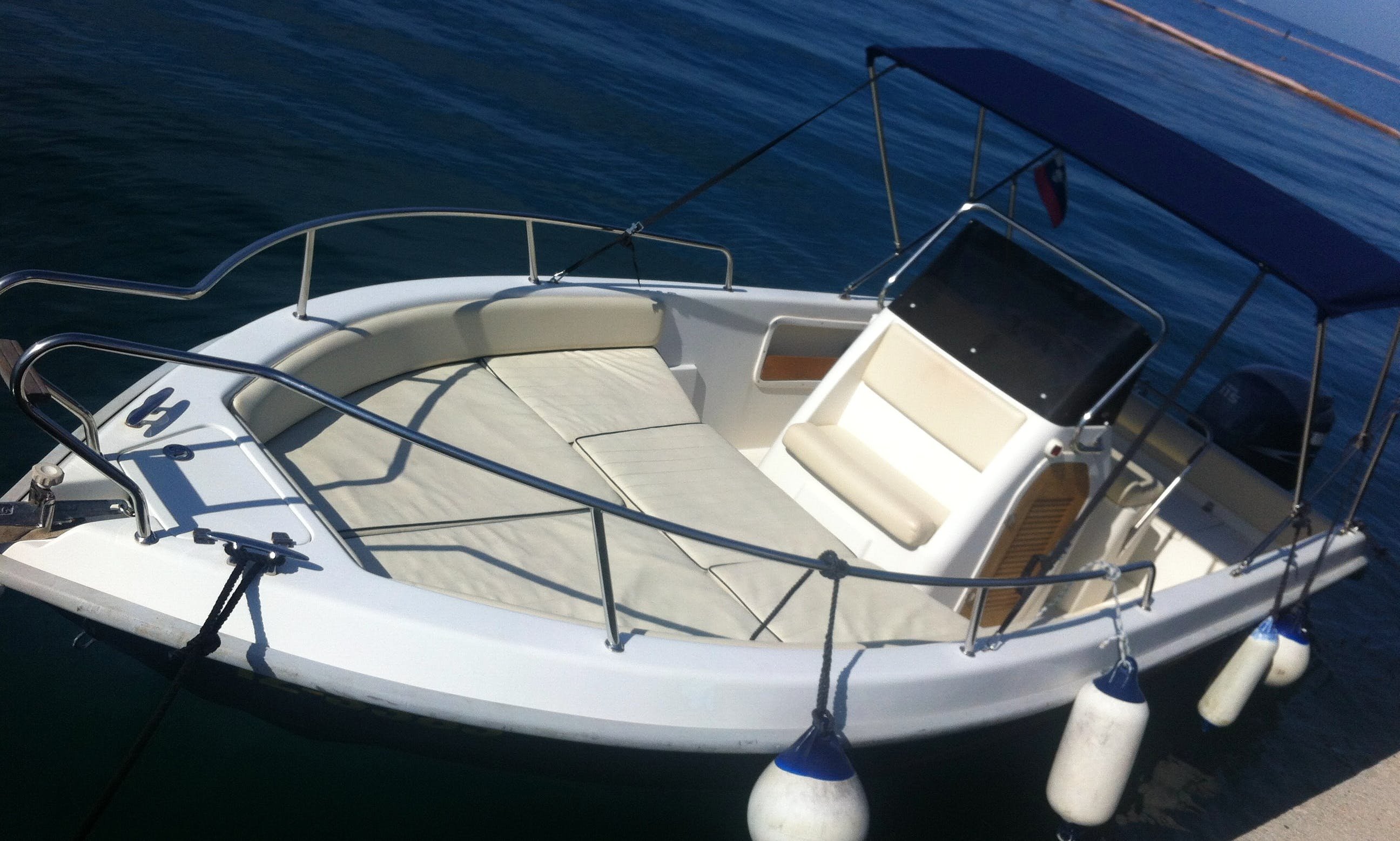 Center Console Boat for Rent in Portorož