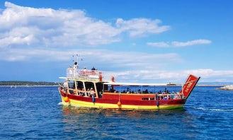 Charter Trawler in Medulin, Croatia