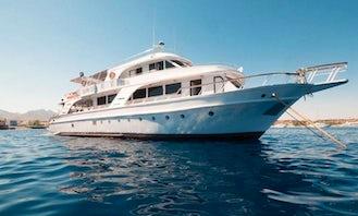 Charter 92' M.Y. Juliet Power Mega Yacht in Qesm Sharm Ash Sheikh, Egypt
