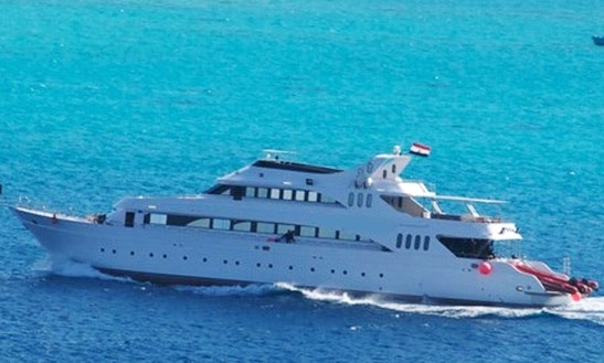 Charter 127' Vita Xplorer Power Mega Yacht In Red Sea Governorate, Egypt